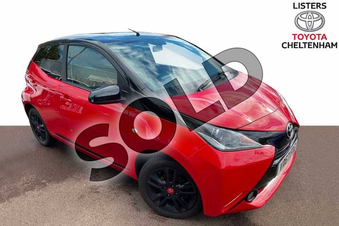 Picture of Toyota AYGO 1.0 VVT-i X-Cite 4 5dr in Red Pop