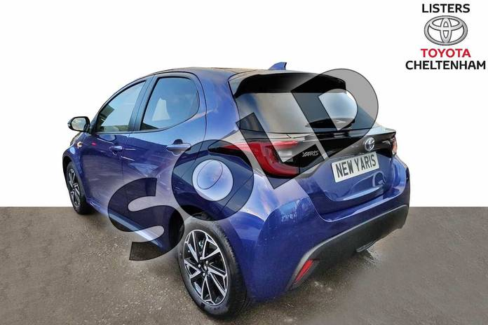 Image four of this 2020 Toyota Yaris Hatchback 1.5 Hybrid Design 5dr CVT in Galactic Blue at Listers Toyota Cheltenham