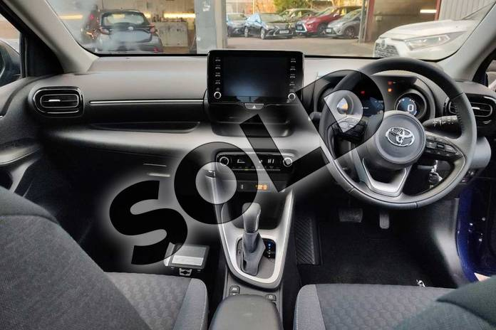 Image five of this 2020 Toyota Yaris Hatchback 1.5 Hybrid Design 5dr CVT in Galactic Blue at Listers Toyota Cheltenham