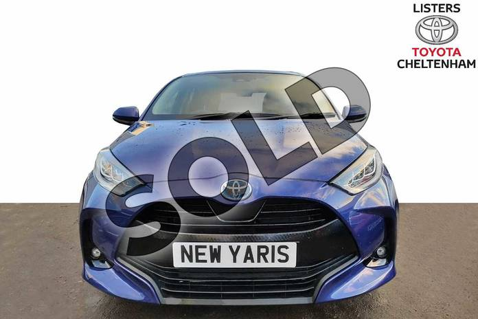 Image fifteen of this 2020 Toyota Yaris Hatchback 1.5 Hybrid Design 5dr CVT in Galactic Blue at Listers Toyota Cheltenham