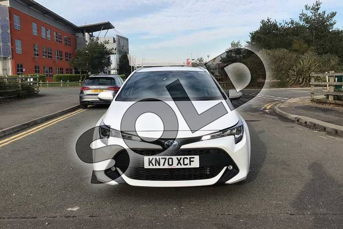 Image fifteen of this 2020 Toyota Corolla Touring Sport 1.8 VVT-i Hybrid Design 5dr CVT in White at Listers Toyota Nuneaton
