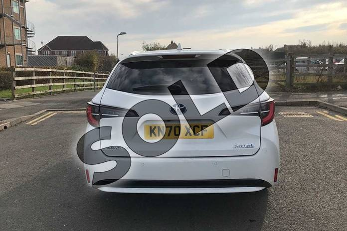 Image nineteen of this 2020 Toyota Corolla Touring Sport 1.8 VVT-i Hybrid Design 5dr CVT in White at Listers Toyota Nuneaton