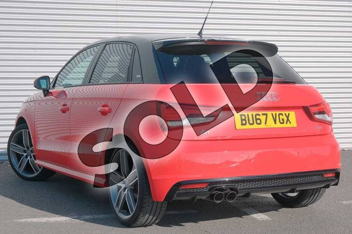 Image three of this 2017 Audi A1 Sportback Special Editions 1.4 TFSI 150 Black Edition 5dr in Misano Red Pearlescent at Coventry Audi