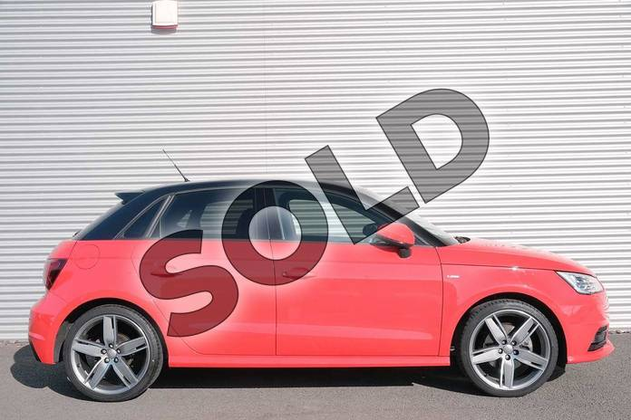 Image four of this 2017 Audi A1 Sportback Special Editions 1.4 TFSI 150 Black Edition 5dr in Misano Red Pearlescent at Coventry Audi