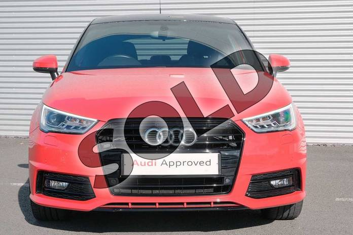 Image eight of this 2017 Audi A1 Sportback Special Editions 1.4 TFSI 150 Black Edition 5dr in Misano Red Pearlescent at Coventry Audi