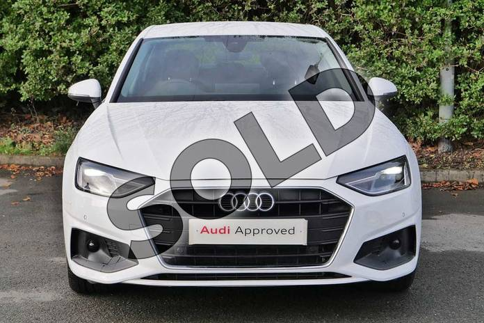 Image seven of this 2020 Audi A4 Diesel Saloon 35 TDI Technik 4dr S Tronic in Ibis White at Worcester Audi