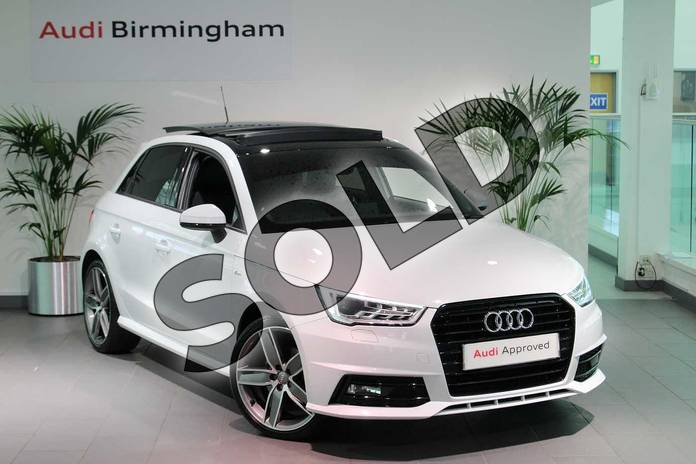 Picture of Audi A1 1.4 TFSI 150 Black Edition 5dr in Glacier White, metallic