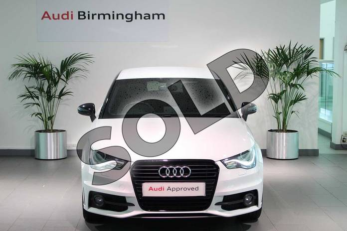 Image seven of this 2015 Audi A1 Hatchback Special Editions 1.6 TDI S Line Style Edition 3dr in Glacier White, metallic at Birmingham Audi
