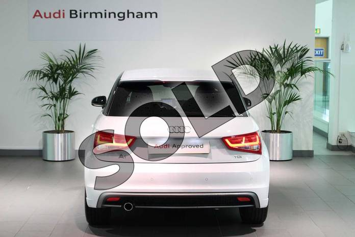Image thirteen of this 2015 Audi A1 Hatchback Special Editions 1.6 TDI S Line Style Edition 3dr in Glacier White, metallic at Birmingham Audi