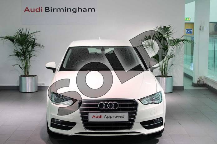 Image seven of this 2014 Audi A3 Sportback 1.4 TFSI Sport 5dr in Amalfi White at Birmingham Audi