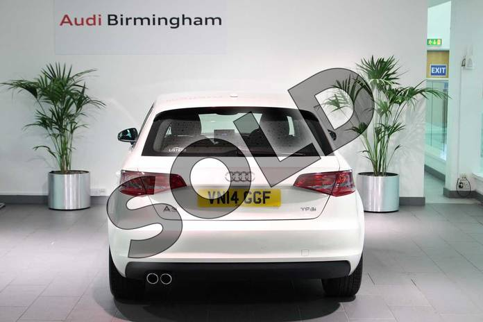 Image thirteen of this 2014 Audi A3 Sportback 1.4 TFSI Sport 5dr in Amalfi White at Birmingham Audi