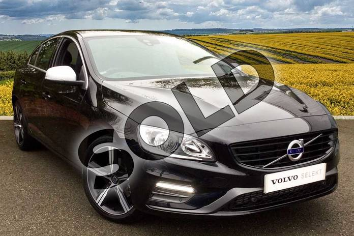 Picture of Volvo S60 D4 (190) R DESIGN Nav 4dr Geartronic in Onyx Black