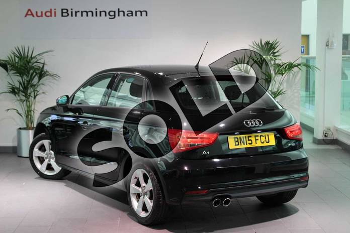Image three of this 2015 Audi A1 Sportback 1.4 TFSI Sport 5dr in Brilliant Black at Birmingham Audi
