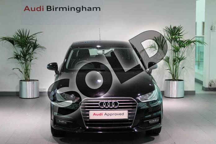 Image seven of this 2015 Audi A1 Sportback 1.4 TFSI Sport 5dr in Brilliant Black at Birmingham Audi
