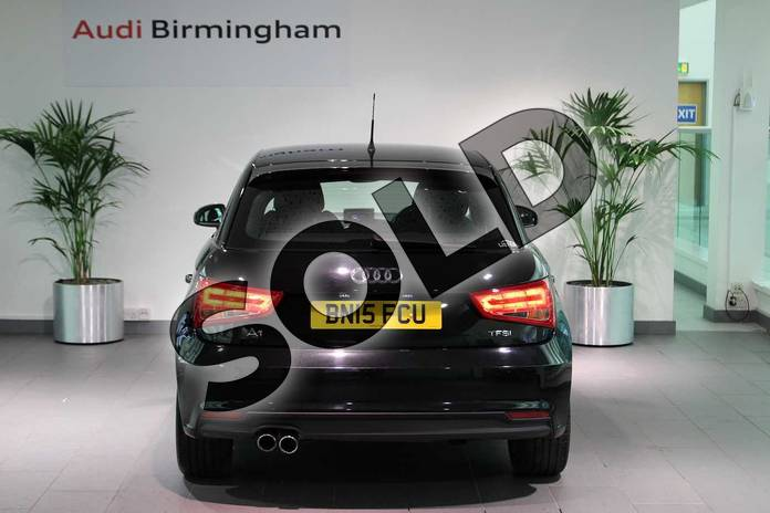 Image thirteen of this 2015 Audi A1 Sportback 1.4 TFSI Sport 5dr in Brilliant Black at Birmingham Audi