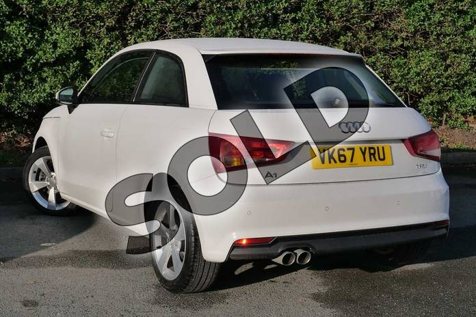 Image three of this 2017 Audi A1 Hatchback 1.4 TFSI Sport 3dr in Shell White at Worcester Audi