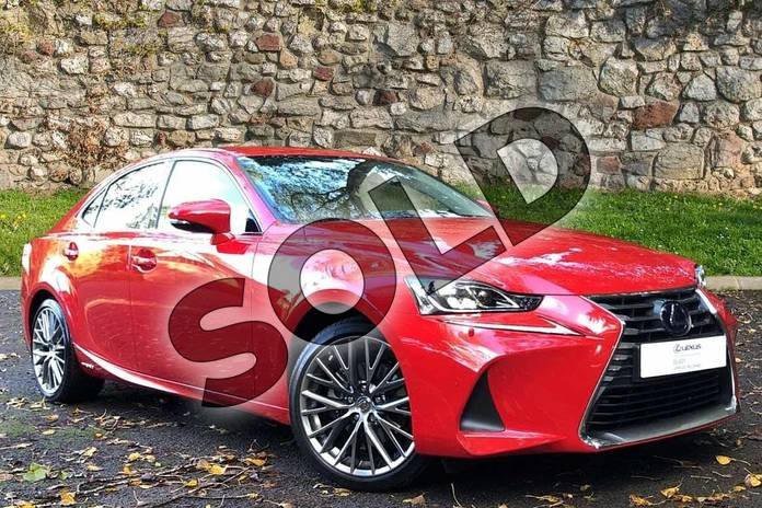 Picture of Lexus IS 300h 4dr CVT Auto in Fuji Red