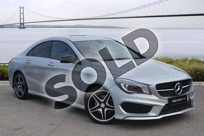 Mercedes-Benz CLA Diesel Coupe CLA 220 CDI AMG Sport 4dr Tip Auto