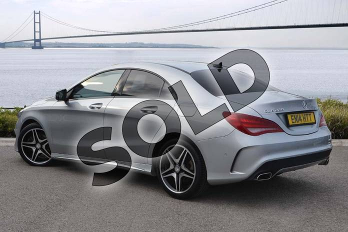 Image two of this 2014 Mercedes-Benz CLA Diesel Coupe CLA 220 CDI AMG Sport 4dr Tip Auto in Polar silver metallic at Mercedes-Benz of Hull