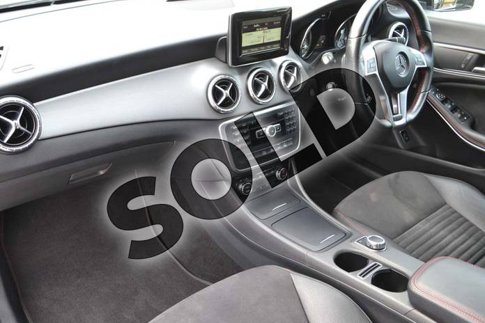 Image three of this 2014 Mercedes-Benz CLA Diesel Coupe CLA 220 CDI AMG Sport 4dr Tip Auto in Polar silver metallic at Mercedes-Benz of Hull