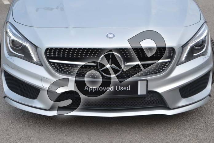 Image fifteen of this 2014 Mercedes-Benz CLA Diesel Coupe CLA 220 CDI AMG Sport 4dr Tip Auto in Polar silver metallic at Mercedes-Benz of Hull