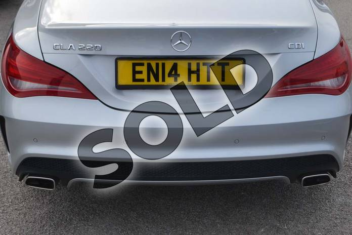 Image thirty-three of this 2014 Mercedes-Benz CLA Diesel Coupe CLA 220 CDI AMG Sport 4dr Tip Auto in Polar silver metallic at Mercedes-Benz of Hull