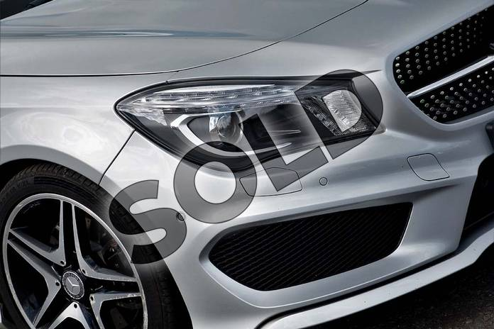 Image twenty-one of this 2015 Mercedes-Benz CLA Diesel Coupe CLA 220 CDI AMG Sport 4dr Tip Auto in Polar silver metallic at Mercedes-Benz of Lincoln