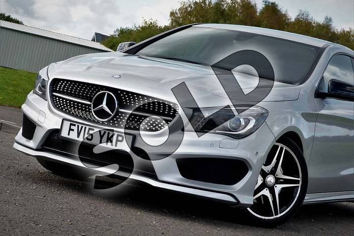 Image twenty-eight of this 2015 Mercedes-Benz CLA Diesel Coupe CLA 220 CDI AMG Sport 4dr Tip Auto in Polar silver metallic at Mercedes-Benz of Lincoln