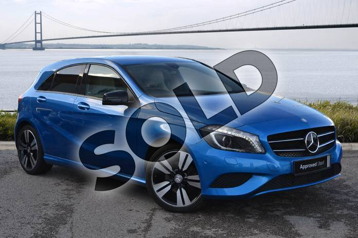 Picture of Mercedes-Benz A Class A200 (2.1) CDI Sport 5dr Auto in South Seas Blue