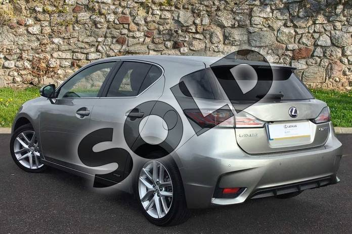 Image two of this 2017 Lexus CT Hatchback 200h 1.8 Advance 5dr CVT Auto in Sonic Titanium at Lexus Coventry
