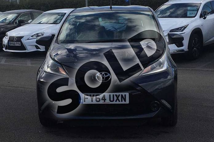 Image fifteen of this 2014 Toyota AYGO Hatchback 1.0 VVT-i X-Play 5dr in Deep Blue Buzz at Listers Toyota Lincoln