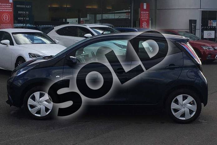 Image seventeen of this 2014 Toyota AYGO Hatchback 1.0 VVT-i X-Play 5dr in Deep Blue Buzz at Listers Toyota Lincoln