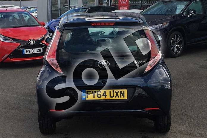 Image nineteen of this 2014 Toyota AYGO Hatchback 1.0 VVT-i X-Play 5dr in Deep Blue Buzz at Listers Toyota Lincoln