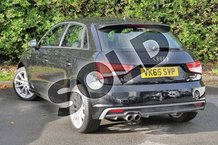 Image three of this 2015 Audi A1 Sportback 1.4 TFSI 150 S Line 5dr in Mythos Black, metallic at Worcester Audi