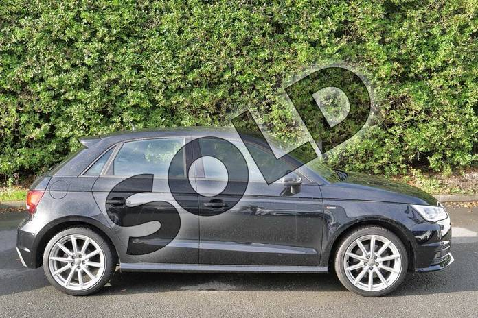 Image four of this 2015 Audi A1 Sportback 1.4 TFSI 150 S Line 5dr in Mythos Black, metallic at Worcester Audi