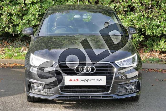 Image seven of this 2015 Audi A1 Sportback 1.4 TFSI 150 S Line 5dr in Mythos Black, metallic at Worcester Audi