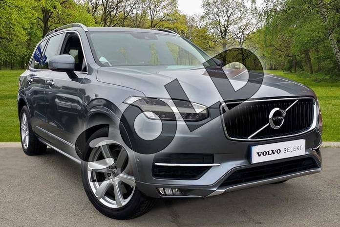 Picture of Volvo XC90 2.0 D5 PowerPulse Momentum 5dr AWD Geartronic in Osmium Grey