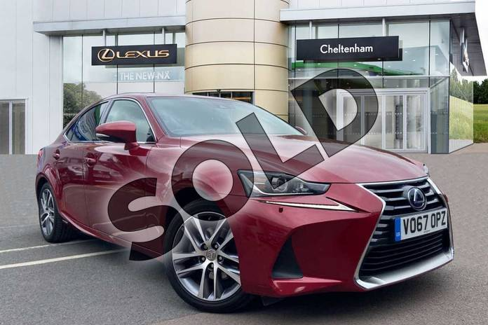 Picture of Lexus IS 300h Executive Edition 4dr CVT Auto in Red