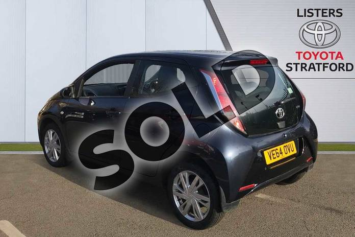 Image four of this 2014 Toyota AYGO Hatchback 1.0 VVT-i X-Pression 5dr in Blue at Listers Toyota Stratford-upon-Avon