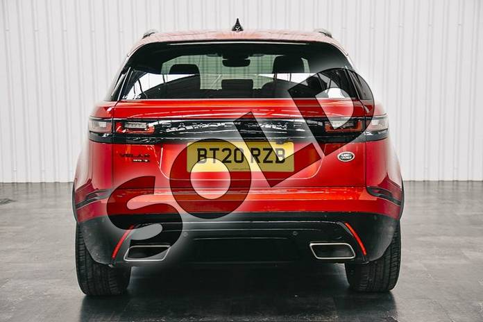 Image six of this 2020 Range Rover Velar Diesel Estate 3.0 D275 R-Dynamic S 5dr Auto in Firenze Red at Listers Land Rover Solihull