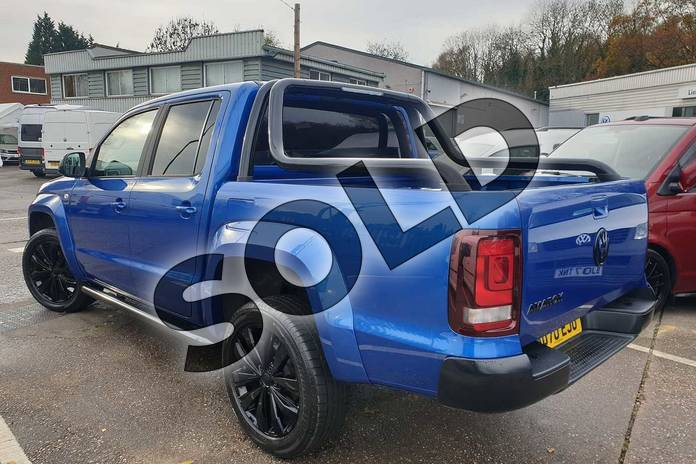 Image three of this 2020 Volkswagen Amarok 3.0TDI V6 (258PS) Eu6dT Black Edition 4M in Blue at Listers Volkswagen Van Centre Coventry