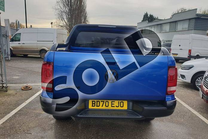 Image eight of this 2020 Volkswagen Amarok 3.0TDI V6 (258PS) Eu6dT Black Edition 4M in Blue at Listers Volkswagen Van Centre Coventry