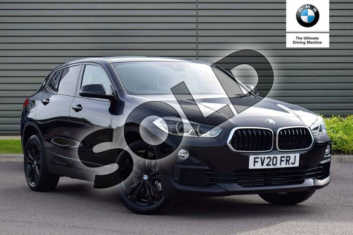 Picture of BMW X2 sDrive 20i Sport 5dr Step Auto in Black Sapphire metallic paint