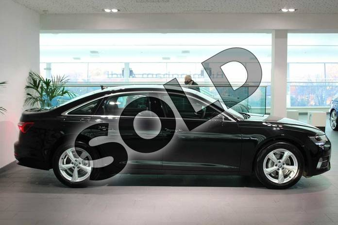 Image four of this 2020 Audi A6 Diesel Saloon 40 TDI Sport 4dr S Tronic in Myth Black Metallic at Birmingham Audi