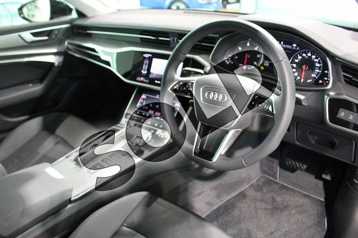 Image six of this 2020 Audi A6 Diesel Saloon 40 TDI Sport 4dr S Tronic in Myth Black Metallic at Birmingham Audi