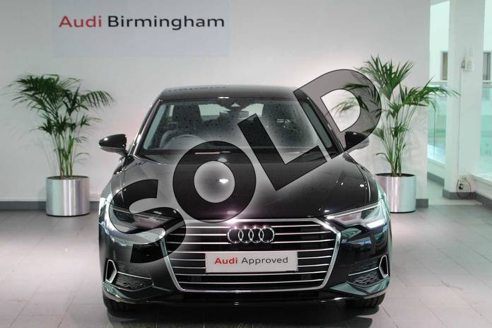 Image seven of this 2020 Audi A6 Diesel Saloon 40 TDI Sport 4dr S Tronic in Myth Black Metallic at Birmingham Audi