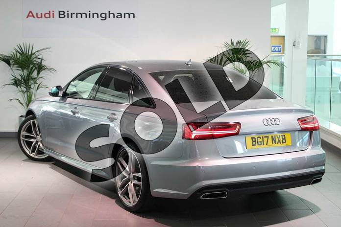 Image three of this 2017 Audi A6 Saloon Special Editions 2.0 TDI Ultra Black Edition 4dr S Tronic in Tornado Grey Metallic at Birmingham Audi