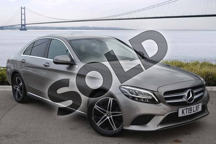 Picture of Mercedes-Benz C Class C220d Sport 4dr 9G-Tronic in Mojave Silver Metallic