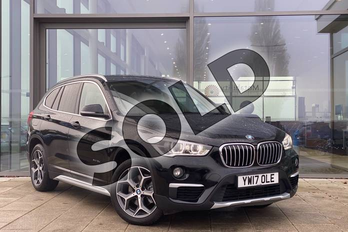 Picture of BMW X1 xDrive 18d xLine 5dr in Jet Black