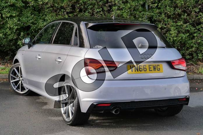 Image three of this 2016 Audi A1 Sportback Special Editions 1.6 TDI Black Edition 5dr in Floret Silver Metallic at Worcester Audi